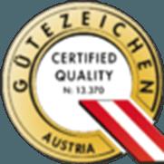 Austria Gütezeichen Quality Seal