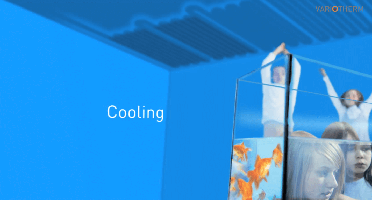 Drywall Ceiling Heating/Cooling System in London