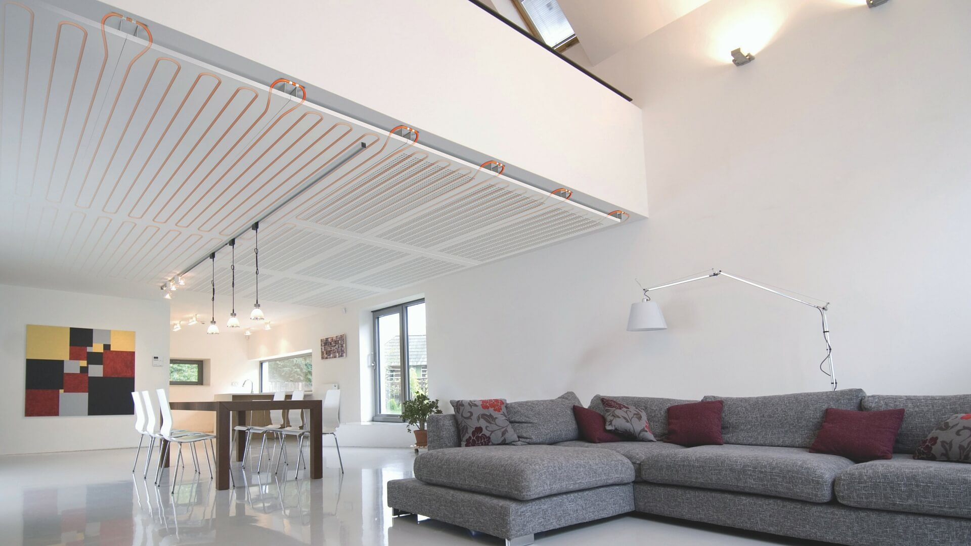 Ceiling Heating / Cooling